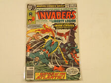 THE INVADERS #37  Marvel Comics 1979 VG * World War 2 Captain America
