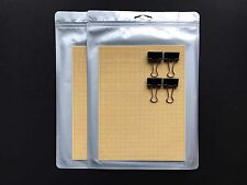 6″x8″ Cell / PerfBoard for 3D Printing / Printer - 2 Packs w/ 4 Binder Clips