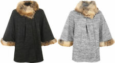 Faux Fur Acrylic Plus Size Coats & Jackets for Women