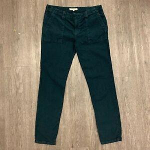 Joie Jeans Cavier Painter Pants Women's Size 29 Front Slant Pockets Rolled Cuff