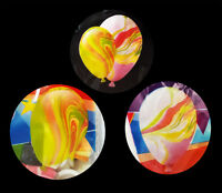 Pack of 15 Marble Party Occasions Decoration Balloons Colourful Multi-Colour UK