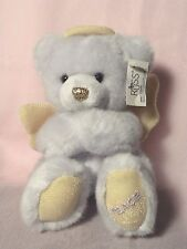 "Russ Bear Angels 5"" Stuffed Pastel Purple Bear 3+"