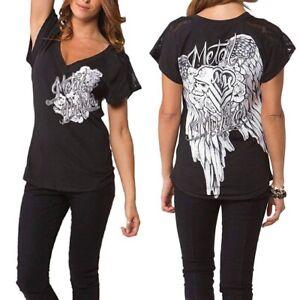 Metal Mulisha Lovers Dolman Top Size S