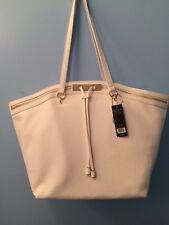 Olivia + Joy New York XL Tote Handbag Purse White MSRP $102 NWT