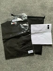 Stone Island X Supreme T Shirt 201S1 Cotton Jersey Black
