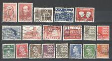 R525 - DANIMARCA 1966 - LOTTO USATI DIFFERENTI N°448/479 - VEDI FOTO