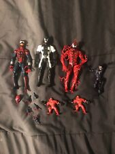 Spider-Man Symbiote Action Figures Lot
