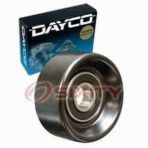 Dayco Lower Drive Belt Idler Pulley for 2009 Kia Optima 2.4L L4 Engine mm