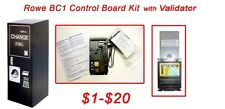 Rowe Bc1 Dollar Bill Changer Upgrade Kit to install Mars Mei bill validator