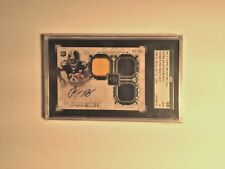 2013 Museum Le'VEON BELL AUTO Triple Jersey PATCH 2/69 Steelers RC SGC 10 MINT