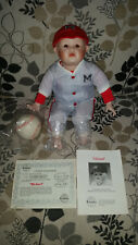 'Michael' Porcelain Baseball Doll by Yolanda Bello 4 Edwin M Knowles