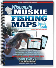 Wisconsin Muskie Fishing Map Guide | 2016 Edition - Sportsman's Connection