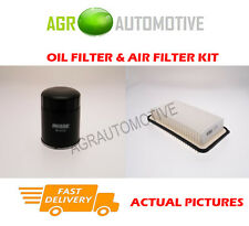 DIESEL SERVICE KIT OIL AIR FILTER FOR TOYOTA COROLLA 2.0 116 BHP 2001-07