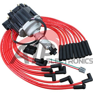 Tune Up Set Distributor and Plug Wires For 1987-1995 Cadillac 4.1 4.5L 4.9L V8