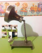 modernariato vintage TABLE lamp lampada TAVOLO table lamp  Bauhaus MINISTERIALE