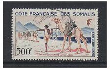 More details for somali coast - 1962, 500f salt caravan stamp - g/u - sg 449
