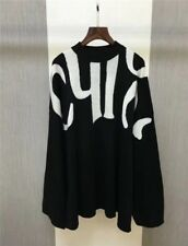 CHLOÉ Woman SWEATER Cotton-wool blend sweater with Chloé intarsia letters