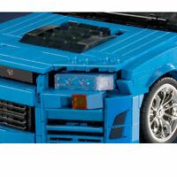 NISSAN Skyline R34 GT SUPER SPORT Car MOC Building Block BRICK - STATIC TECHNIC