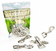 10 - Country Brook Design® 3/4 Inch Heavy Swivel Snap Hooks