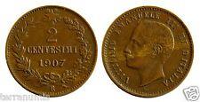 e982 ITALY 2 centesimi 1907 R – very rare