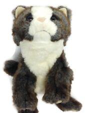 "Folkmanis Hand Puppet Plush Scottish Fold Kitten Full Bodied 10"""