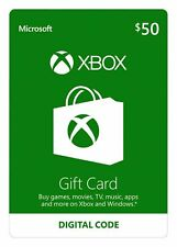 XBOX Live $50 USD Gift Card - XBOX ONE - USA ONLY
