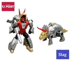 Transformers Dinobot G1 Style Robot Toy - Slag