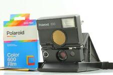 TESTED🔹N MINT🔹 Polaroid 690 SLR + Color Frame Film insert + New Red Skin Japan