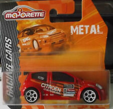 MAJORETTE RACING CARS METAL MINIATURES CITROEN C2 S.LOEB #0 CAR ECHELLE 1:57 OVP