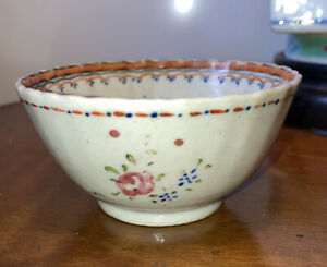 Antique 18th century Chinese Export Porcelain Cup Famille Rose French Market