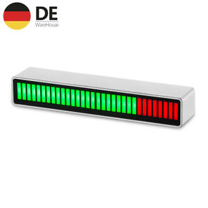 32Bit MIC Lautstärkeanzeige Sound Level Indicator VU Meter Music Audio Spectrum