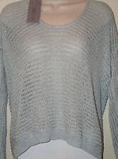 "JENNIFER LOPEZ Petites Long Sleeve Sweater""City Lights Collection""Plein Air Sz S"