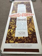Lords Of The Forest (1960) Original US Insert Cinema Poster