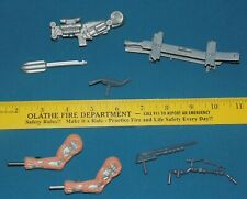 TERMINATOR weapons arms beam missile launcher wrench - battle damage figure