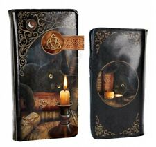 Nemesis Now - Witching Hour Embossed Purse 18.5cm by Lisa Parker, Black Cat Gift