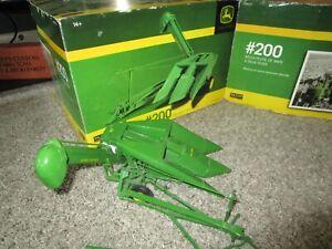 John Deere Farm Toy Spec Cast Resin 200 2 Row Corn Picker Used Custom Parts