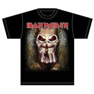 Iron Maiden Eddie Candle Black Tee