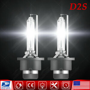 6000K Front HID Headlight Bulb For Nissan 350z 2003-2005 Low Beam Stock Qty 2