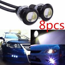 8pcs White Eagle Eye LED COB Rock Daytime Reverse Backup Parking Light 9W CN