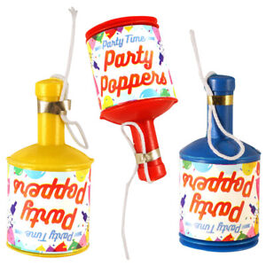 Party Poppers Lockdown Birthday Supplies Bag Filler Decoration Wedding Favours