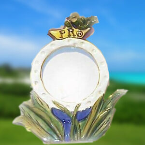 Blue Sky Clayworks Golf Ball Picture Frame - New in Box (has some writing on it)