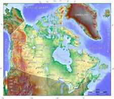 2018-2019 Canada TOPO map for Garmin GPS on microSD/SD (Topographic 50k to 20k)