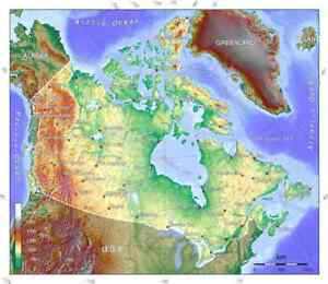 2021 Canada TOPO & routable map Garmin GPS microSD/SD or download 1:25 000