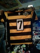 BEN ROETHLISBERGER #7 STEELERS AUTHENTIC 3RD NIKE RETRO  FOOTBALL JERSEY youth-m