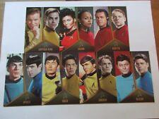 Star Trek Original Series Captains Collection Bridge Crew Duals Insert Set TOS