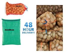 More details for  net sacks vegetables mesh bags logs kindling wood onions potato raschel 15-30kg