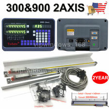 "12"" & 36"" 2Axis Digital Readout TTL Linear Glass Scale DRO Milling Lathe Machine"