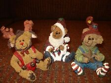 Boyd's Bearstones Nickleby Wolfgang Bear-a-Star - Set of 3 (2nd & 3rd editions)