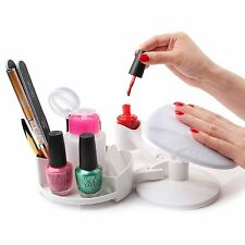 MAKARTT Mani Pedi Nail Station Manicure Pedicure Set Nail Art Base Nail Polish