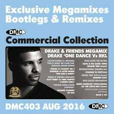DMC Commercial Collection 403 Club Hits Mixes & Two Trackers DJ Double Music CD